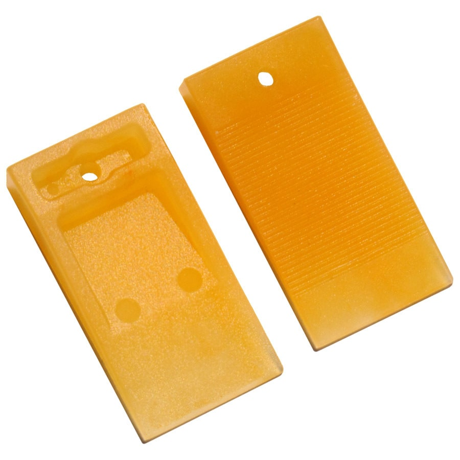 TAVY 100-Pack 1-in W x 1-in L 1/4-in Orange Plastic Tile Spacer