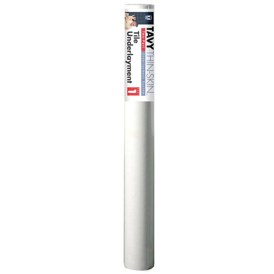 TAVY 100-sq ft 0.0001-in White Plastic Commercial/Residential Tile Membrane