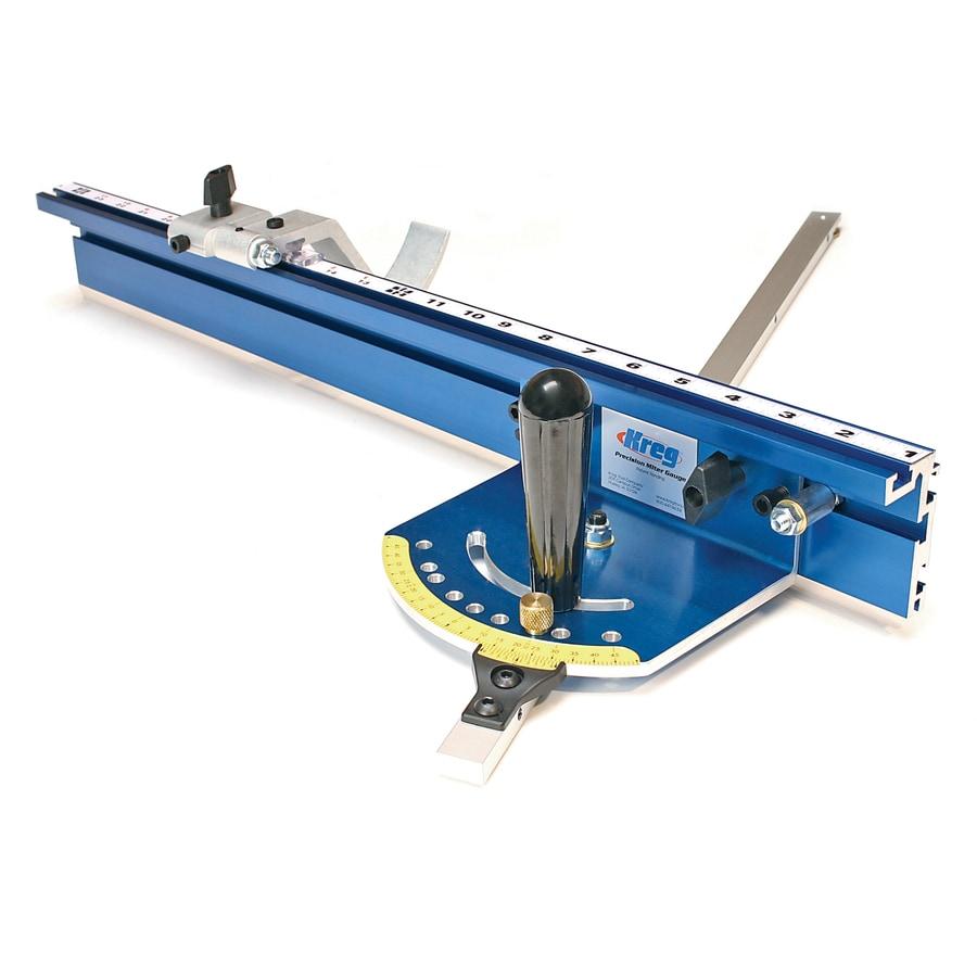 Shop kreg precision miter gauge system at for Table saw lowes