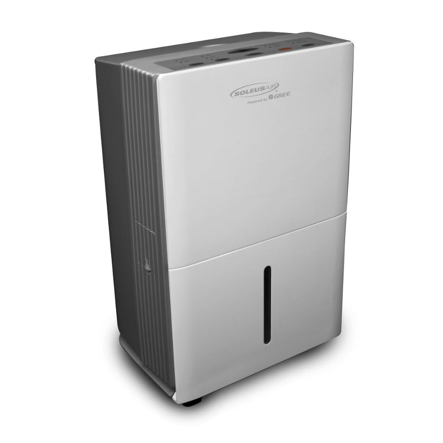 Soleus Powered by Gree 50-Pint 2-Speed Dehumidifier ENERGY STAR