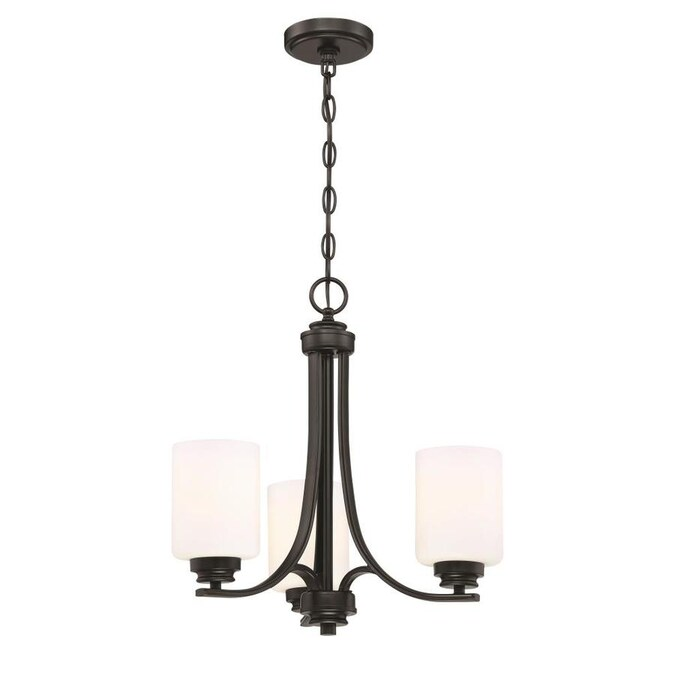 Craftmade Bolden 3-Light Flat Black Transitional