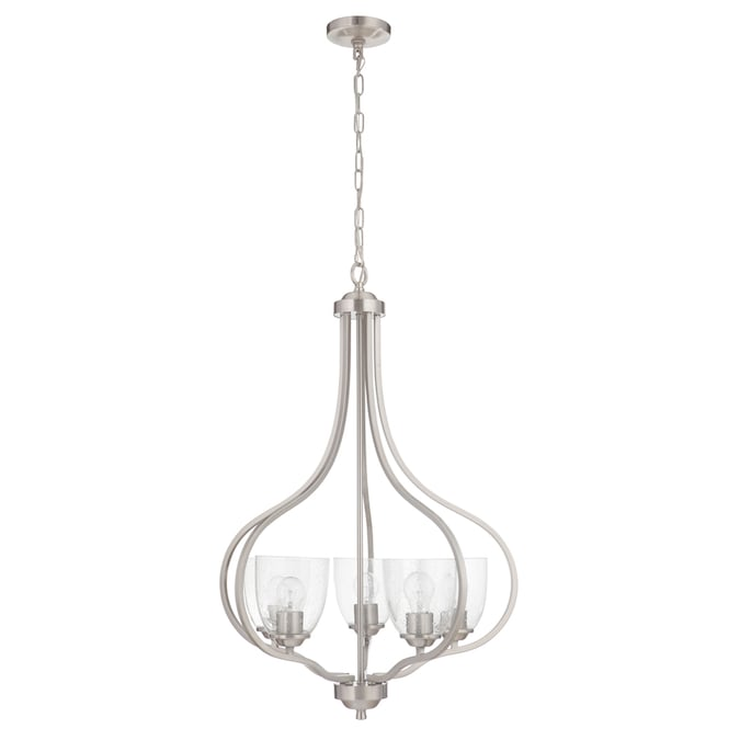 Craftmade Serene 5-Light Brushed Nickel Transitional