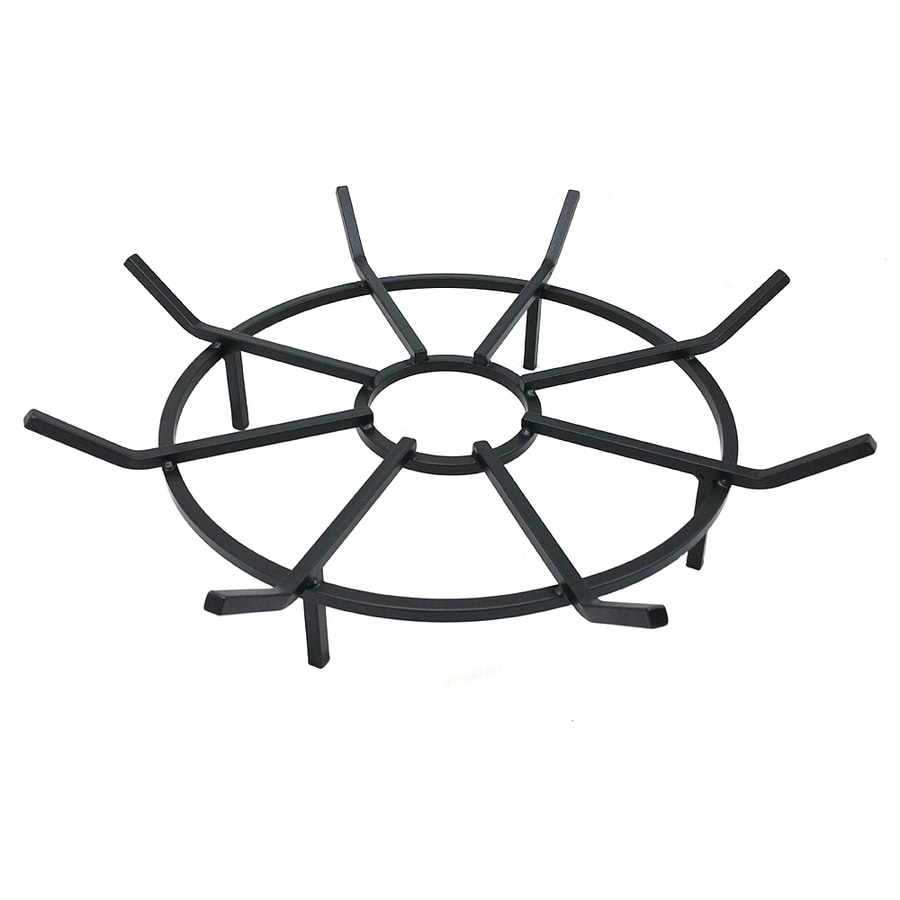 Bonfire Gear 24.25-in W Black Steel Wood-Burning Fire Pit