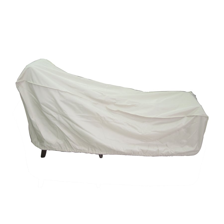 Garden Treasures Taupe Chaise Lounge Cover