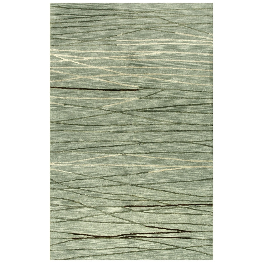 Bashian Charlton Rectangular Indoor Tufted Area Rug (Common: 6 x 9; Actual: 66-in W x 102-in L)