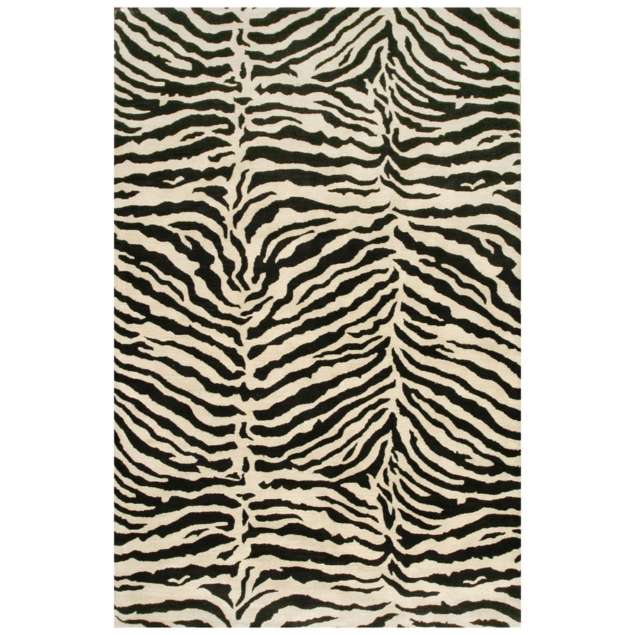 Bashian Charlton Rectangular White Transitional Tufted Wool Area Rug (Common: 9-ft x 12-ft; Actual: 8.5-ft x 11.5-ft)