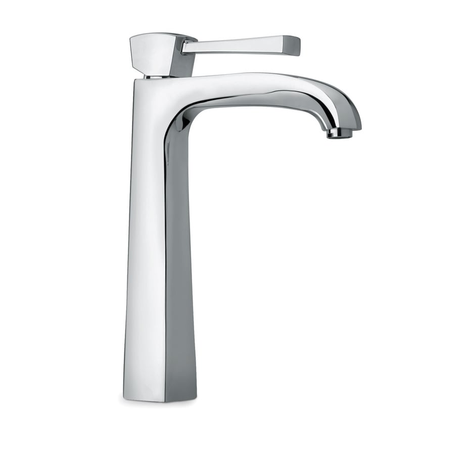 LaToscana Lady Chrome 1-Handle Single Hole WaterSense Bathroom Faucet (Drain Included)