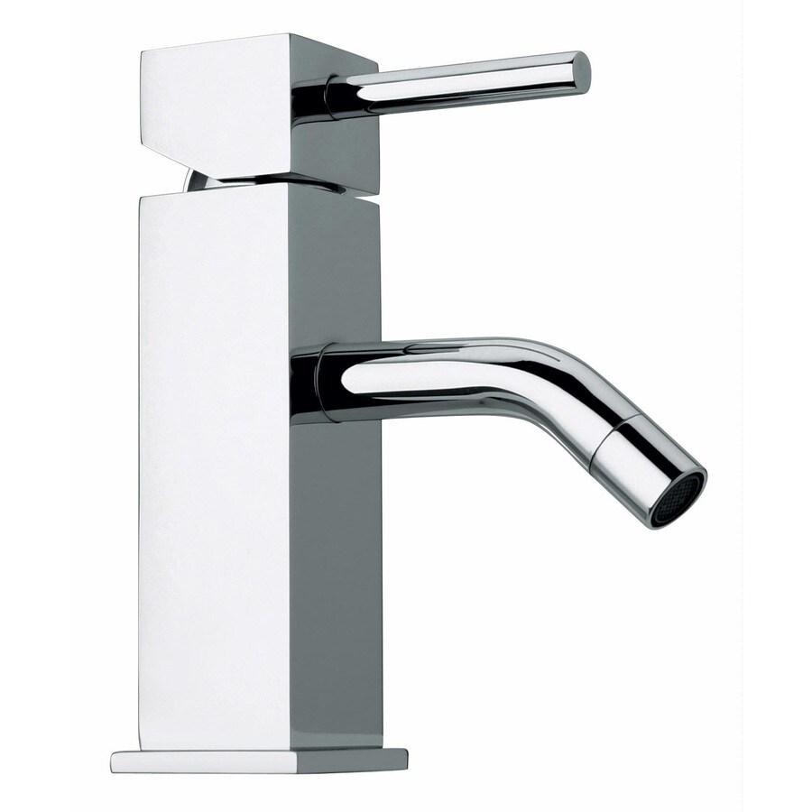 LaToscana Axia Chrome 1-Handle Single Hole WaterSense Bathroom Faucet (Drain Included)