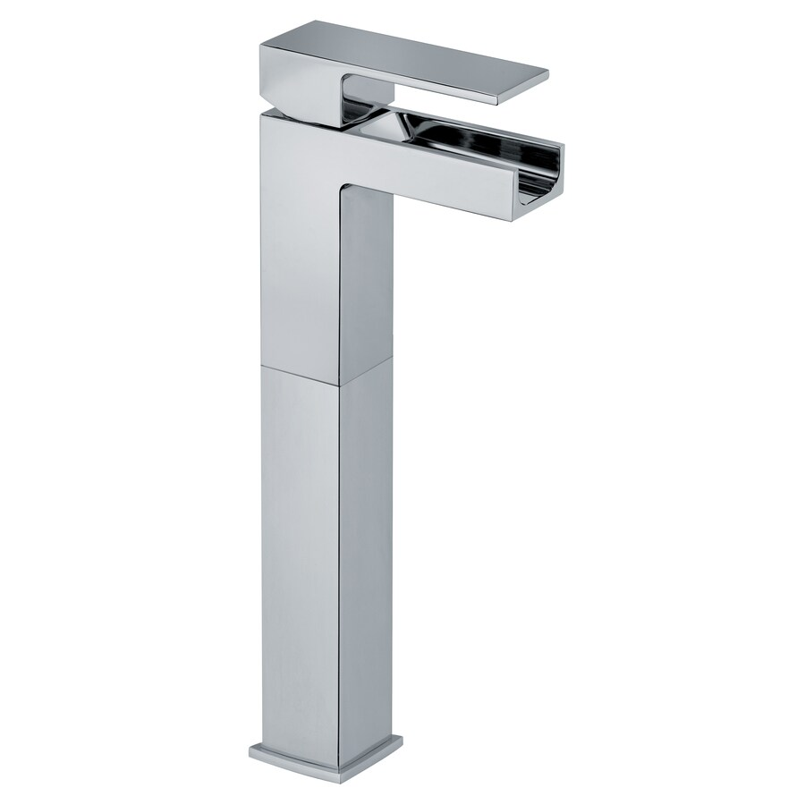 LaToscana Dax Chrome 1-Handle Single Hole WaterSense Bathroom Faucet