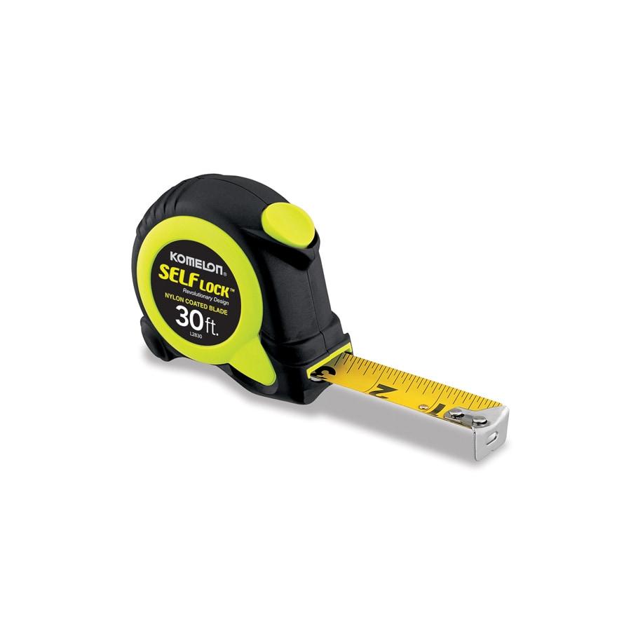 Komelon 30-ft Locking SAE Tape Measure