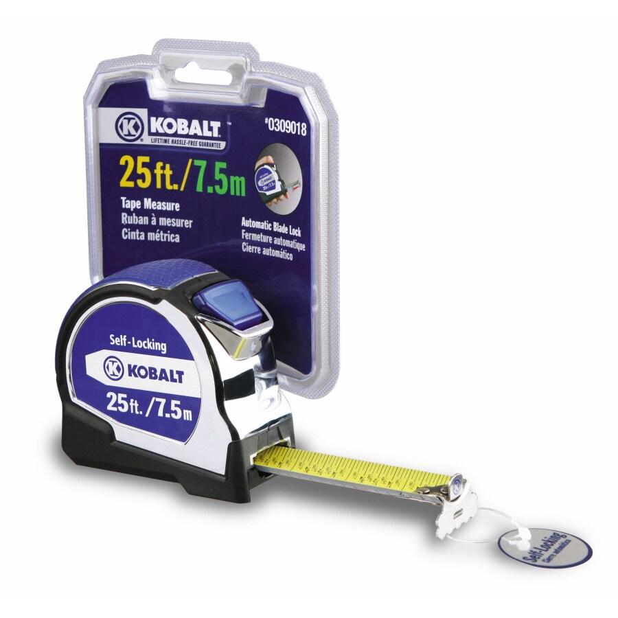 Kobalt 25-ft Metric and SAE Tape Measure