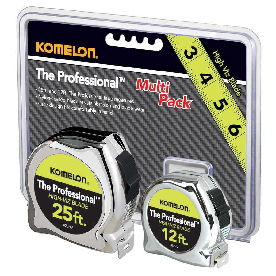 Komelon Inches Tape Measure