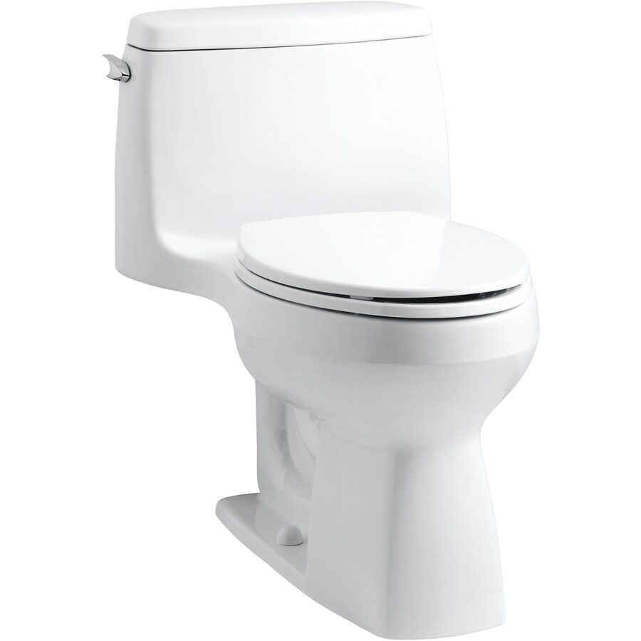 Santa Rosa White 1.6-GPF (6.06-LPF) 12-in Rough-in Elongated Comfort Height Toilet Product Photo