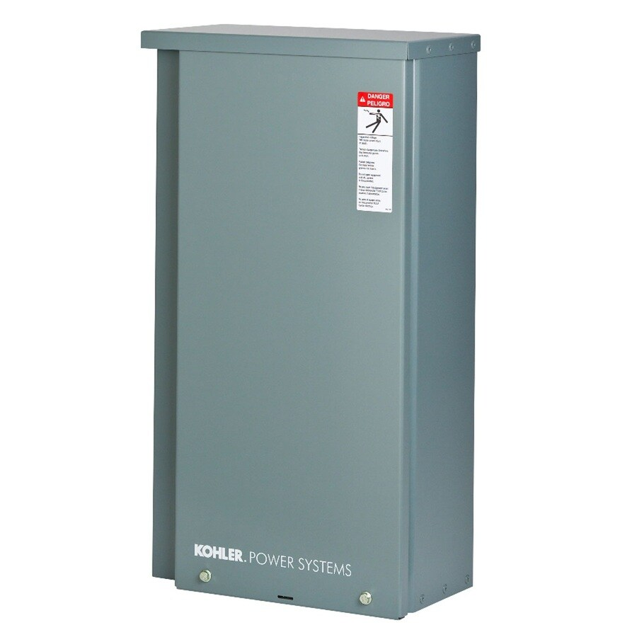 KOHLER 200-Amp Whole House Indoor/Outdoor Rated Automatic Transfer Switch (For Use with 14RESAL, 20RESAL, 24RCL, 38RCL, and 48RCL Generators)