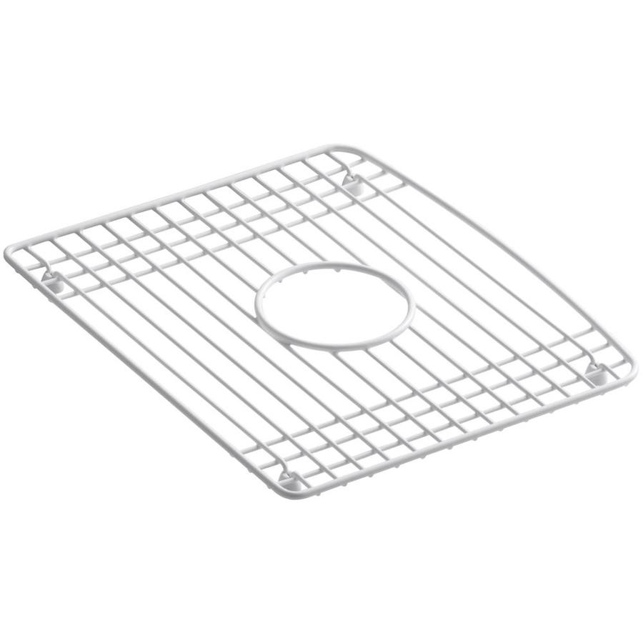 Shop KOHLER 16-in x 14.0625-in Sink Grid at Lowes.com