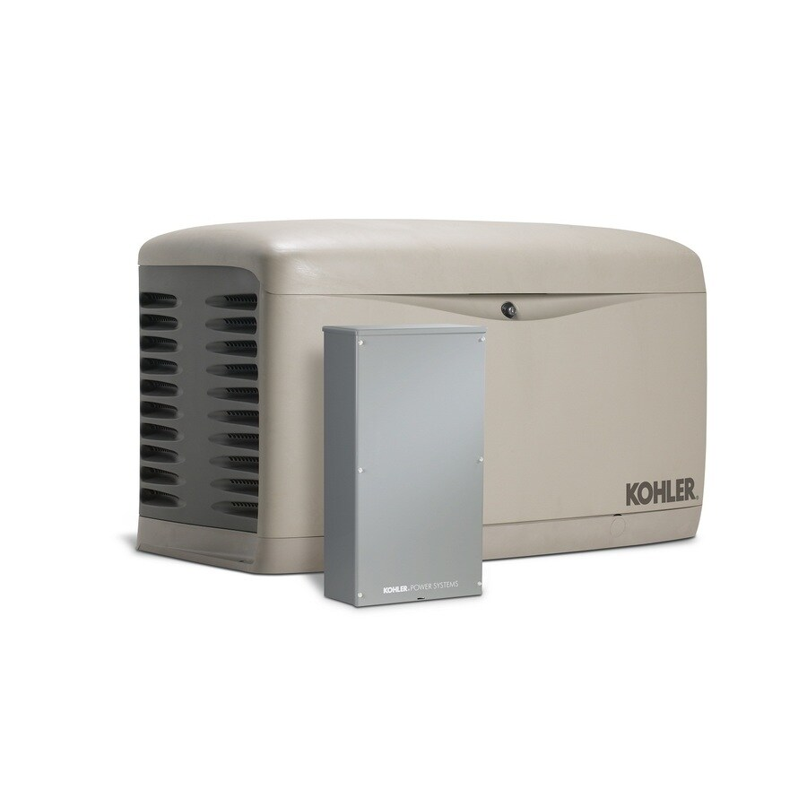 KOHLER 20000-Watt (LP)/18000-Watt (NG) Standby Generator with Automatic Transfer Switch