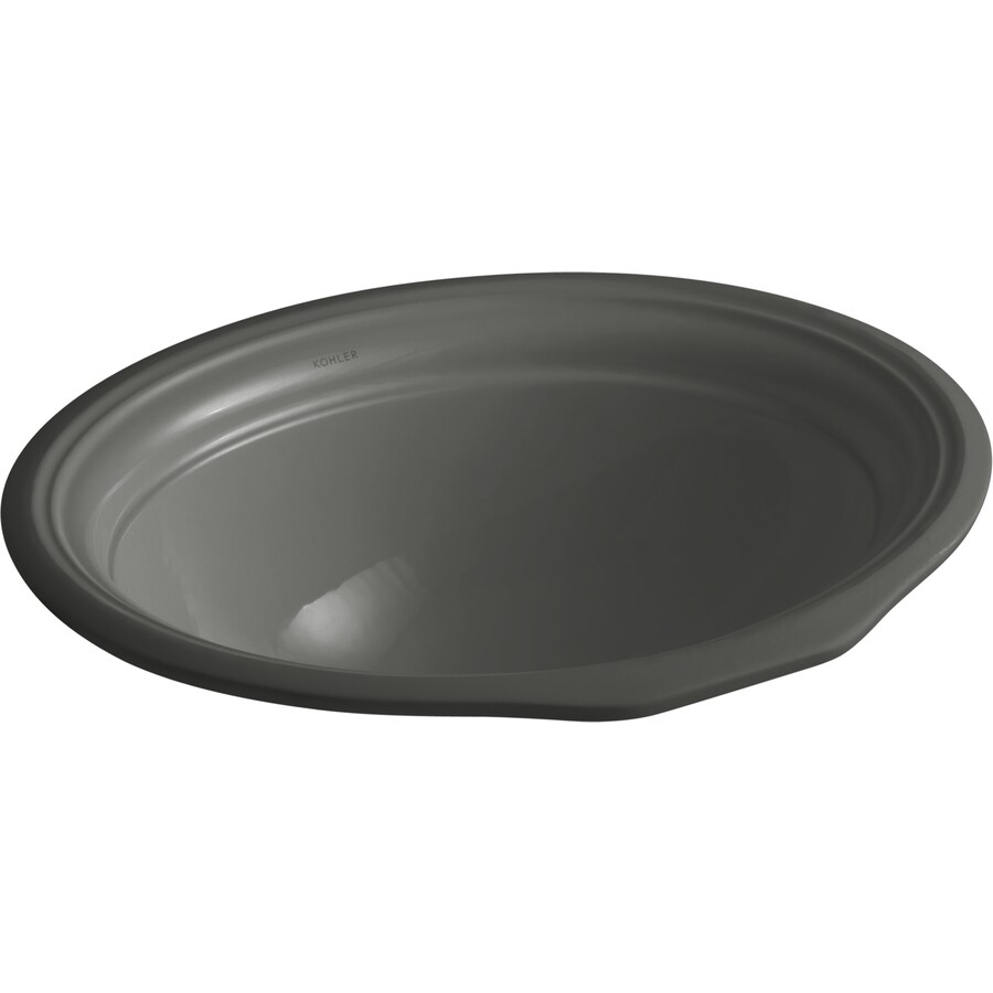 KOHLER Thunder Grey Bathroom Sink