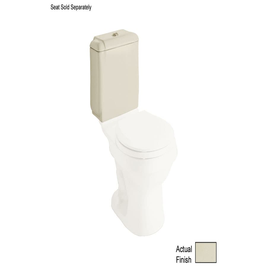 Sterling Rockton Almond 1.6; 0.8-GPF 12-in Rough-In Dual-Flush High-Efficiency Toilet Tank