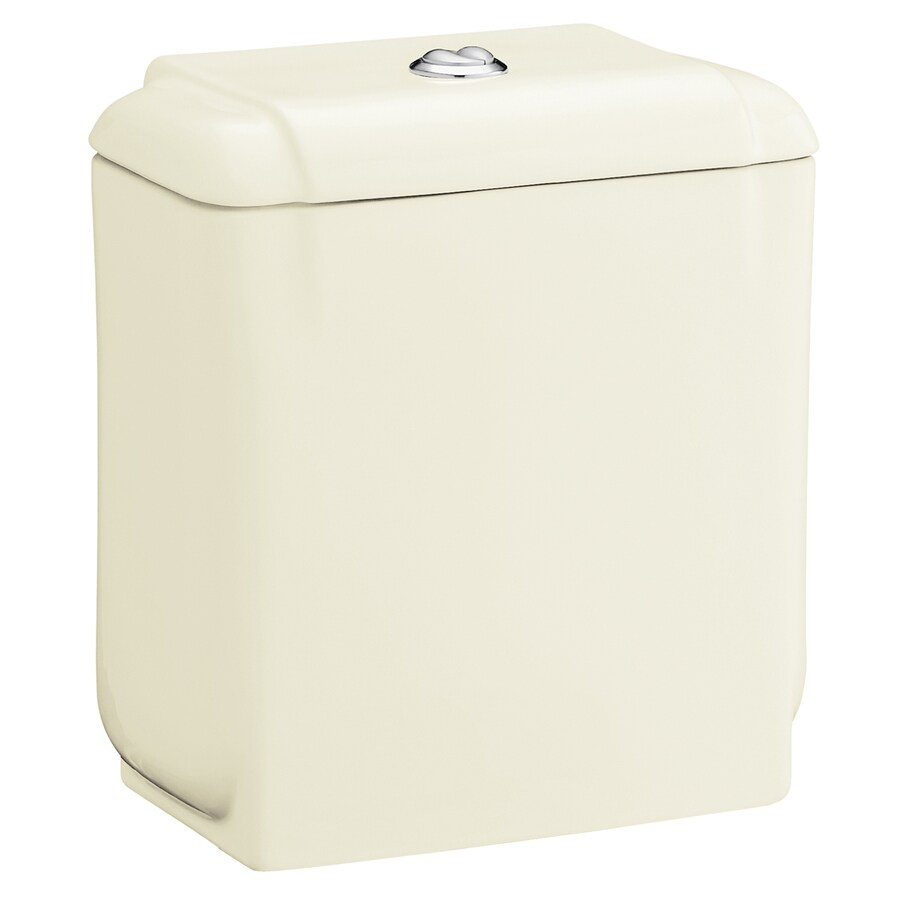 Sterling Rockton Biscuit 1.6-GPF 12-in Rough-In Dual-Flush High-Efficiency Toilet Tank