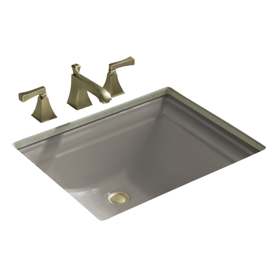 Memoirs Kohler Sink : Shop KOHLER Memoirs Cashmere Undermount Rectangular Bathroom Sink with ...