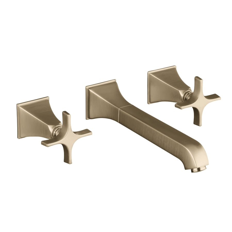 KOHLER Memoirs Vibrant Brushed Bronze 2-Handle Widespread WaterSense Bathroom Faucet