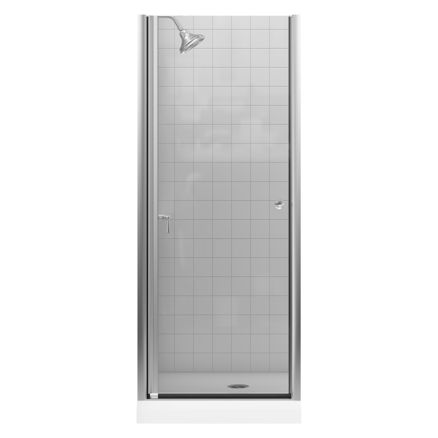 KOHLER Fluence 28.75-in to 30.25-in Frameless Pivot Shower Door