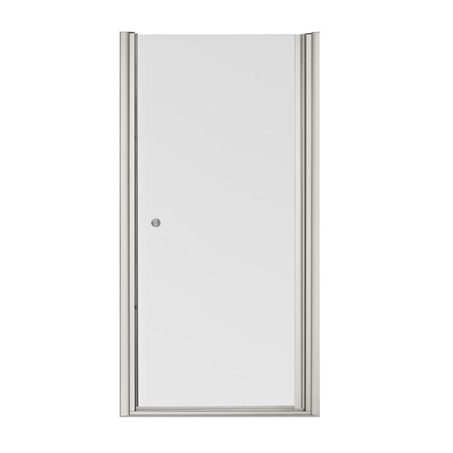 KOHLER Fluence 33.75-in to 35.25-in Frameless Pivot Shower Door