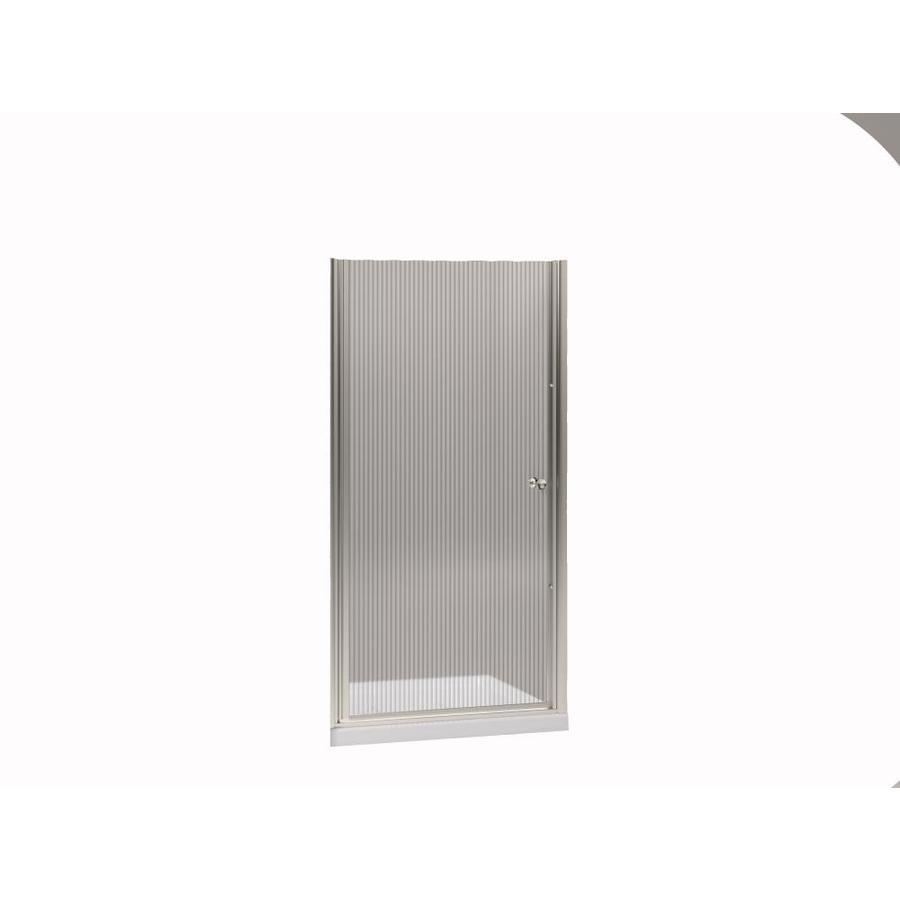 KOHLER Fluence 37.5-in to 39-in Frameless Pivot Shower Door