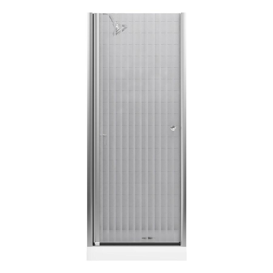 KOHLER Fluence 28.75-in to 30.25-in Frameless Pivot Shower Door