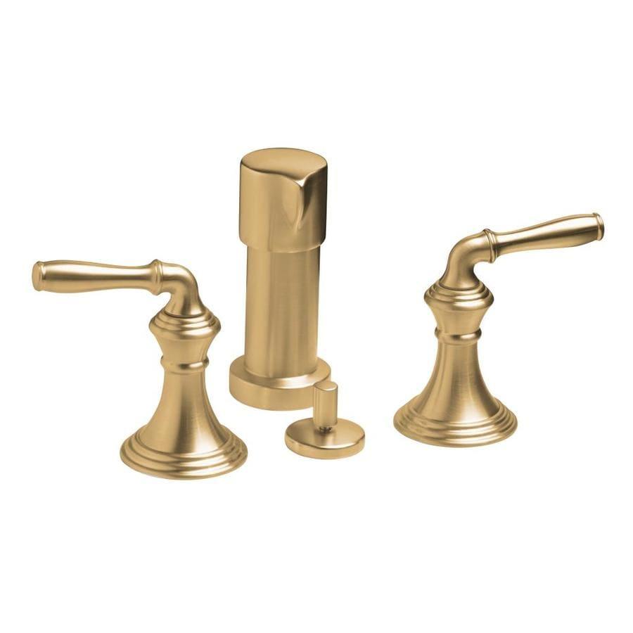 KOHLER Devonshire Vibrant Brushed Bronze Vertical Spray Bidet Faucet