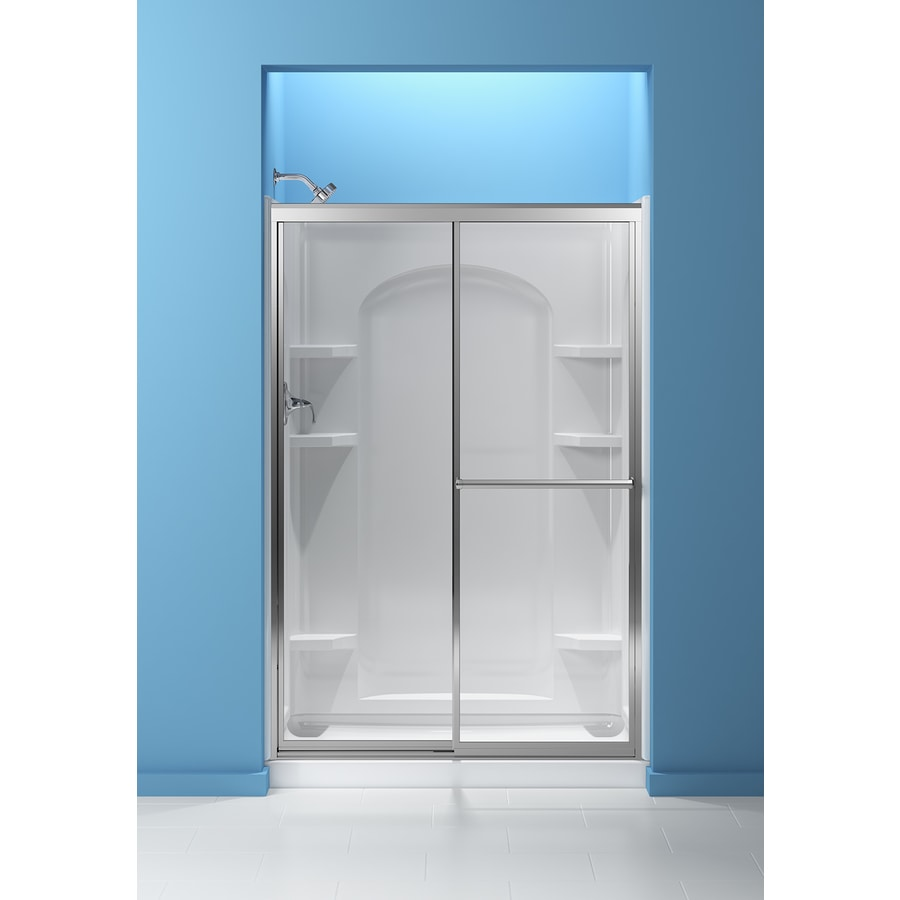 Ensemble White Vikrell Shower Base (Common: 34-in W x 48-in L; Actual: 34-in W x 48-in L) Product Photo