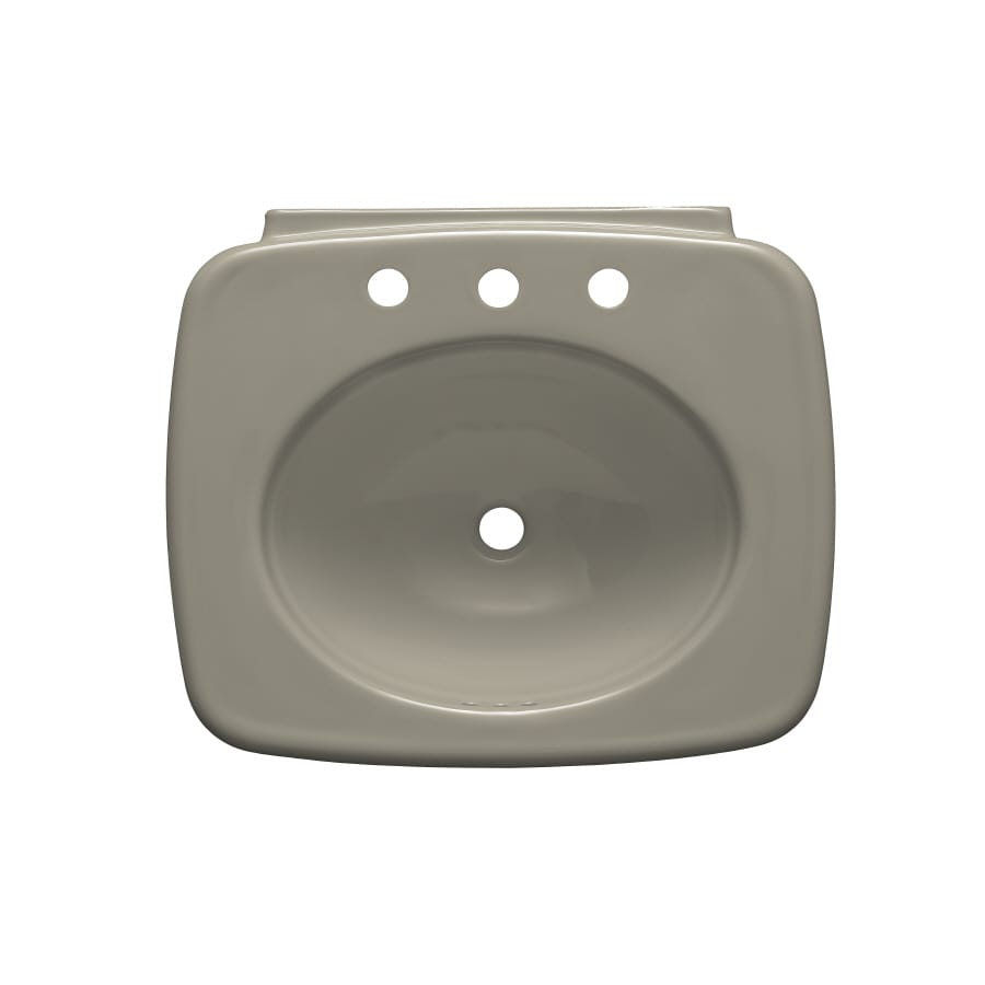 KOHLER 24-in L x 21-in W Vitreous China Pedestal Sink Top