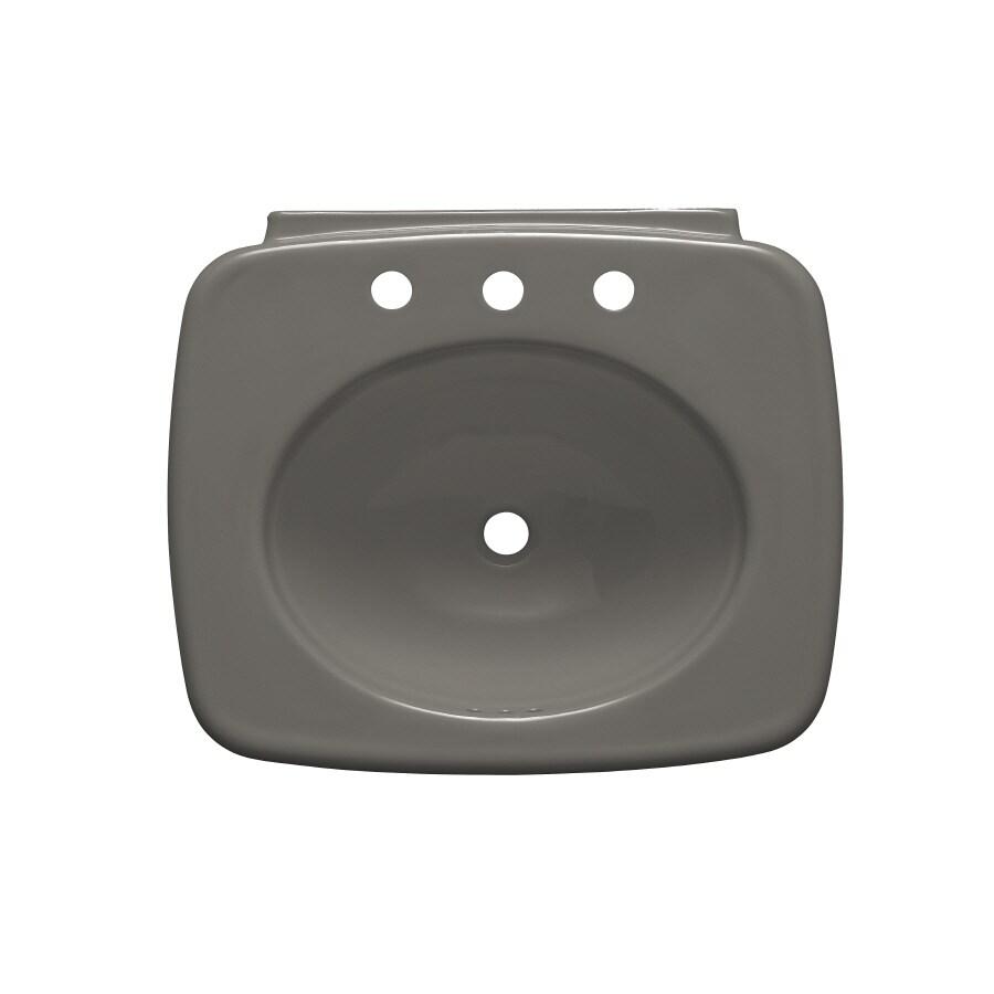 KOHLER 24-in L x 21-in W Vitreous China Pedestal Sink Top