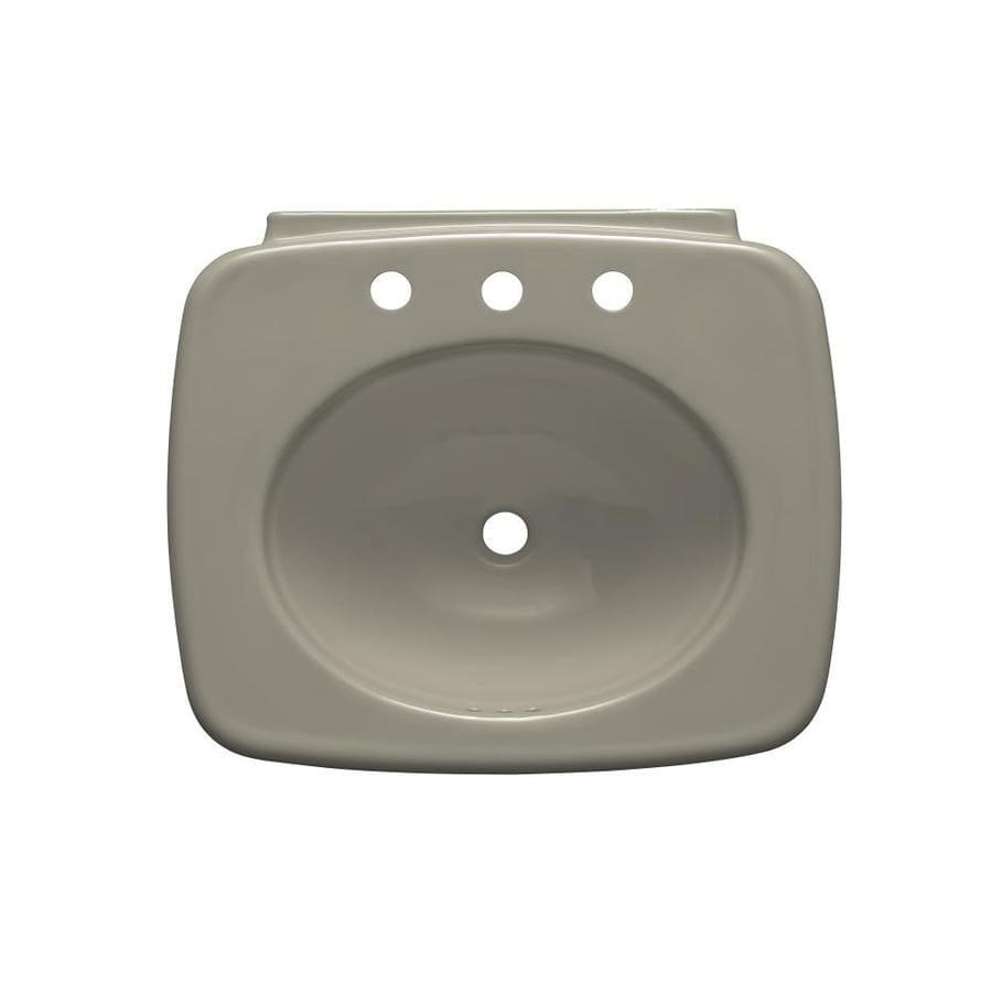 KOHLER Bancroft Sandbar Drop-in Rectangular Bathroom Sink with Overflow