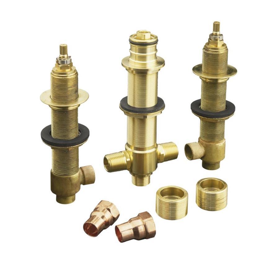 KOHLER 8-in L 1/2-in Sweat Brass Wall Faucet Valve