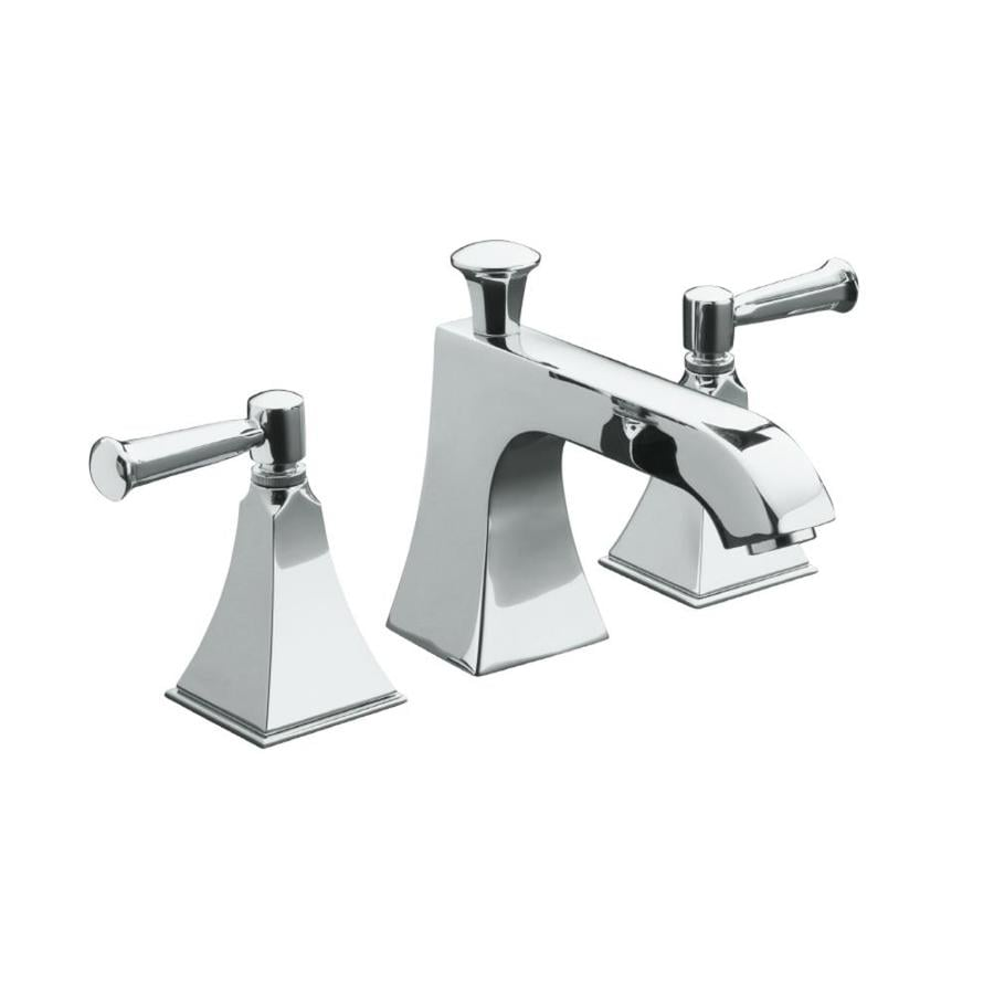KOHLER Memoirs Polished Chrome 2-Handle Fixed Deck Mount Bathtub Faucet