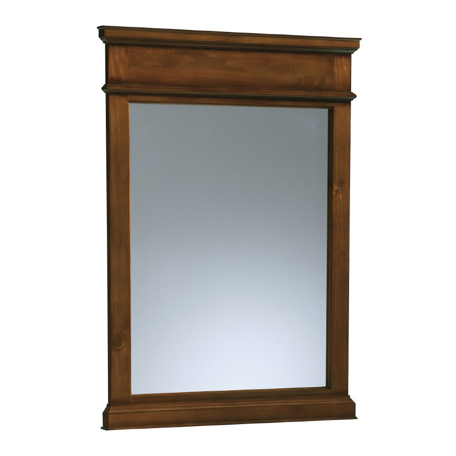 KOHLER Thistledown 37.5-in H x 27.5-in W Sienna Rectangular Bathroom Mirror
