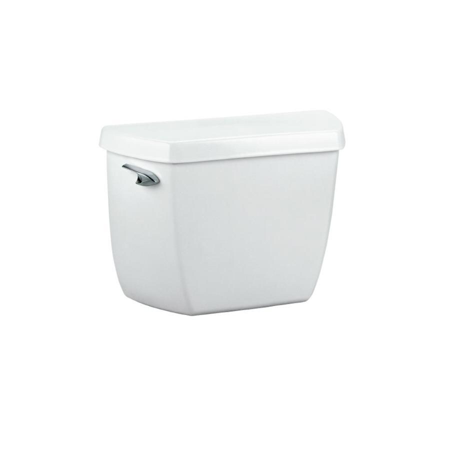 KOHLER Highline White 1.0-GPF (3.79-LPF) 12-in Rough-In Single-Flush High-Efficiency Toilet Tank