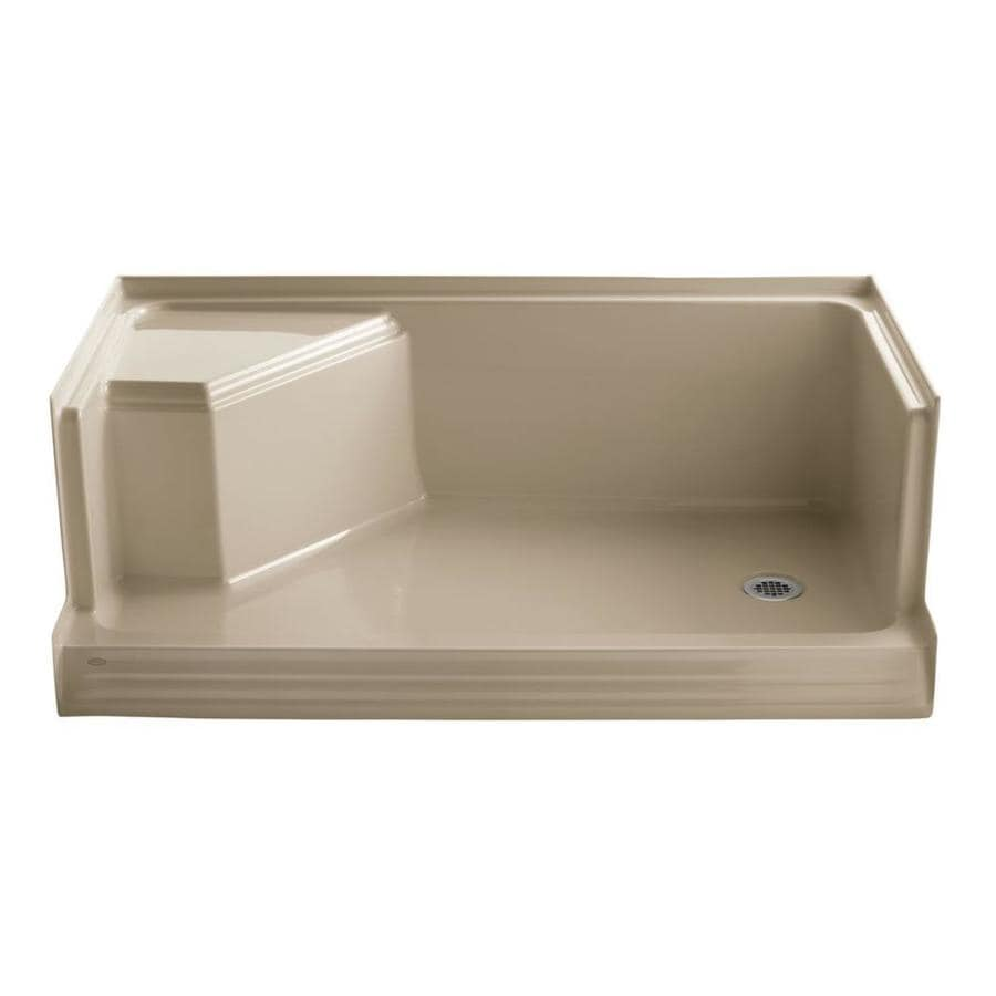 KOHLER Mexican Sand Solid Surface Wall Mount Shower Seat