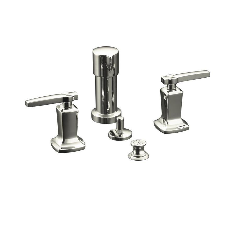 KOHLER Margaux Vibrant Polished Nickel Vertical Spray Bidet Faucet