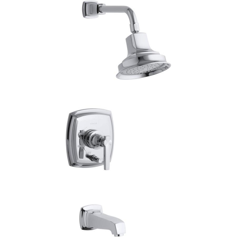 Shop Kohler Margaux Polished Chrome 1 Handle Bathtub And