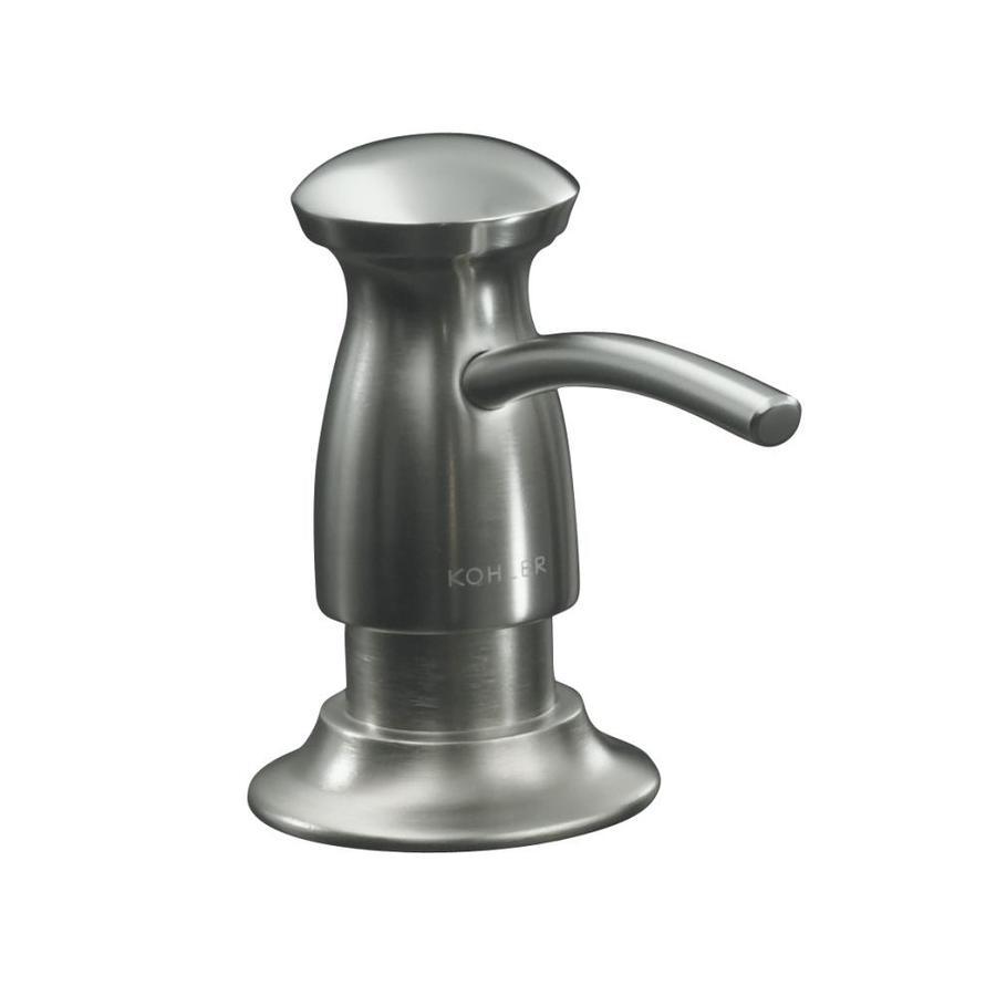 KOHLER Vibrant Stainless Soap and Lotion Dispenser