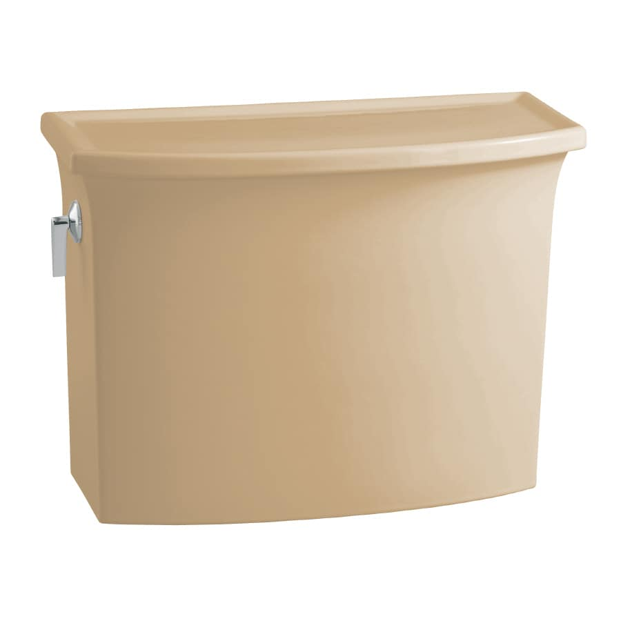KOHLER Archer Mexican Sand 1.28-GPF (4.85-LPF) 12-in Rough-In Single-Flush Toilet Tank