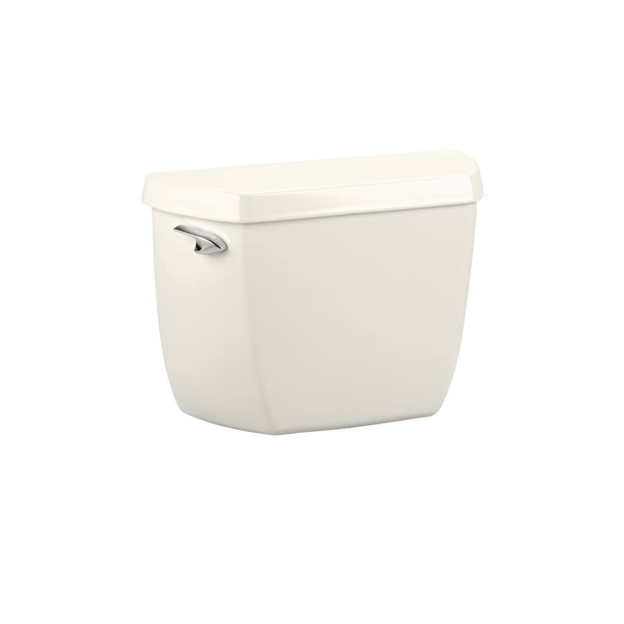 KOHLER Wellworth Biscuit 1.6-GPF (6.06-LPF) 12-in Rough-In Single-Flush Toilet Tank