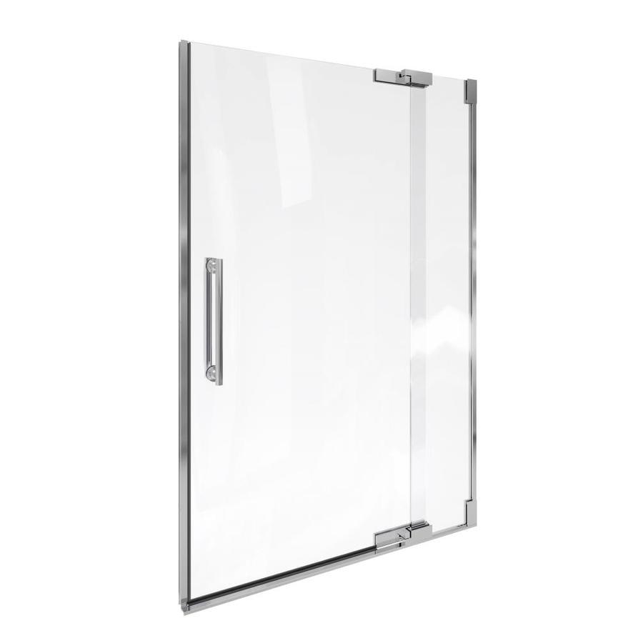 KOHLER Purist 45.25-in to 47.75-in Frameless Pivot Shower Door