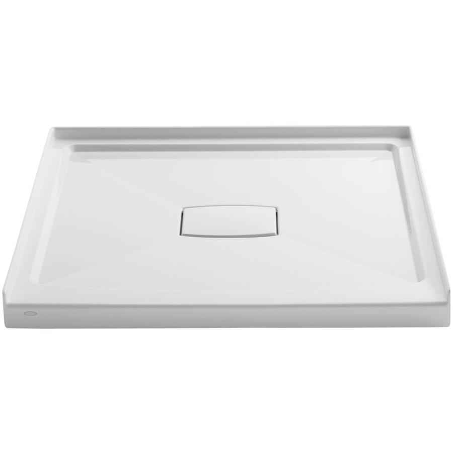 KOHLER Archer White Acrylic Shower Base (Common: 42-in W x 42-in L; Actual: 42-in W x 42-in L)