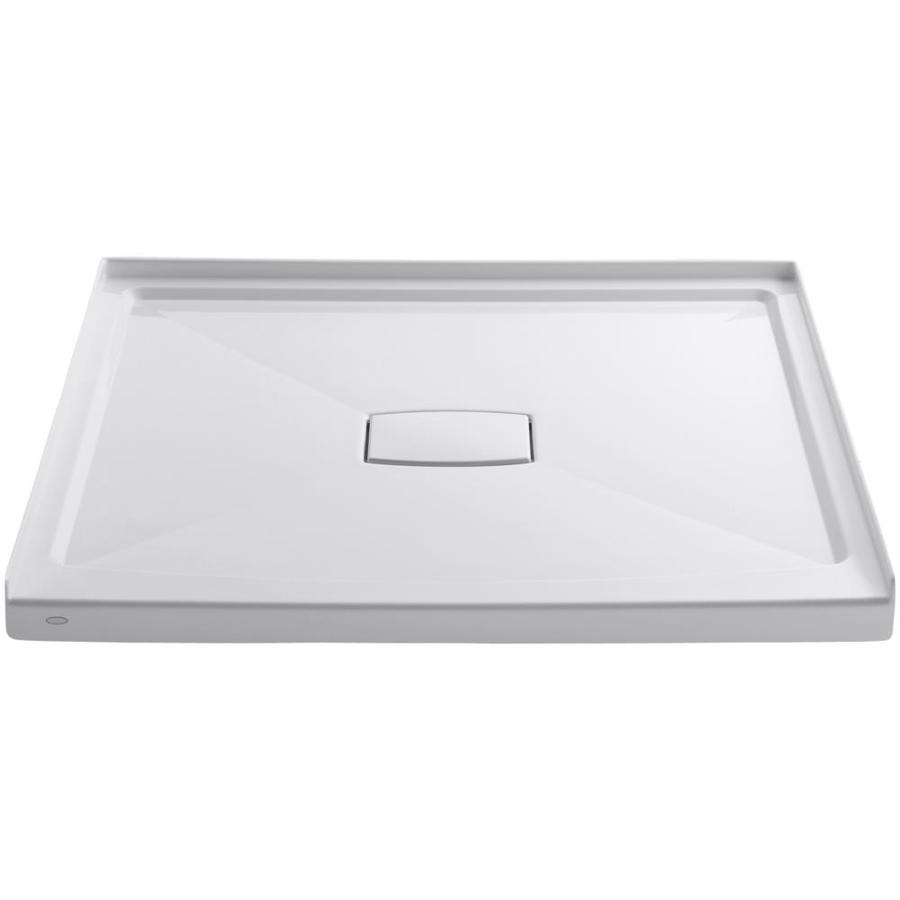 Archer White Acrylic Shower Base (Common: 48-in W x 48-in L; Actual: 48-in W x 48-in L) Product Photo