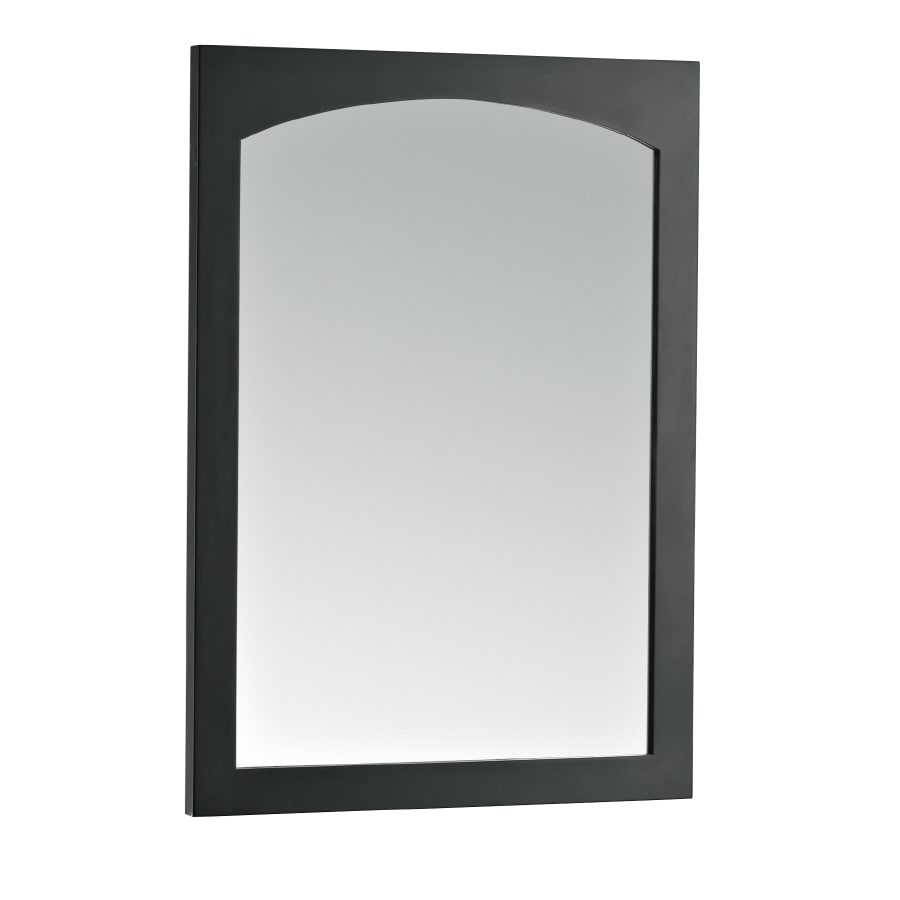 KOHLER Asberry 24-in W x 33-in H Cinder Rectangular Bathroom Mirror