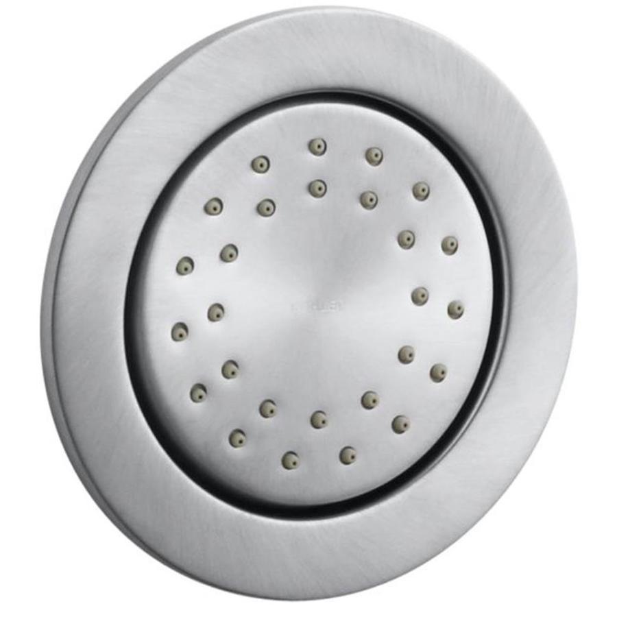 KOHLER WaterTile Brushed Chrome Bathtub and Shower Jet