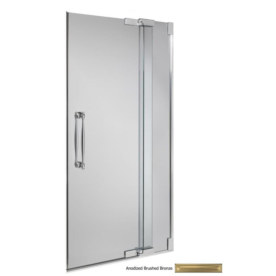 Shop Kohler 0 In To 0 In Frameless Pivot Shower Door At